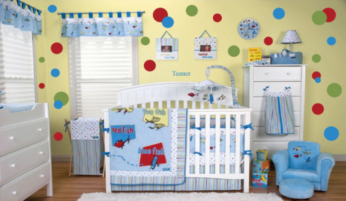 Dr Seuss One Fish Two Red Blue Nursery Ideas