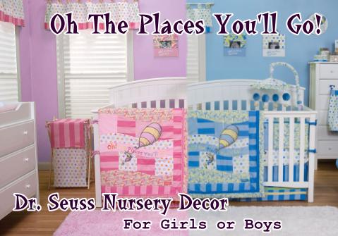 Dr. Seuss Oh The Places You'll Go Nursery Decor