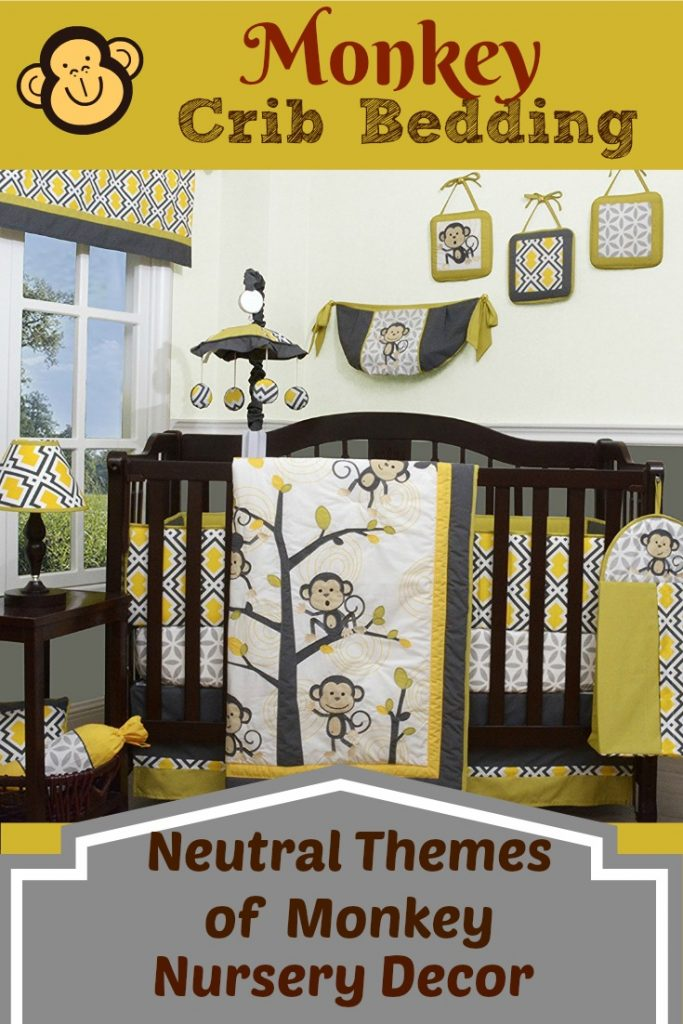 Monkey Crib Bedding Sets